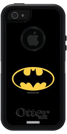 Batman Otterbox iPhone 5 Case - Emblem Batman design on OtterBox® Defender Series® Case for iPhone in Black Cool Iphone 5 Cases, Ipod Cases, Phone Case, Iphone 5s, Apple Iphone, Batman And Batgirl, Something Just Like This, Phone Covers, Cool Gifts