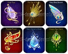 Magic items adopts 6 (CLOSED) by Rittik-Designs on DeviantArt Fantasy Jewelry, Fantasy Art, Elemental Magic, Anime Weapons, Magical Jewelry, Dragon Eye, Weapon Concept Art, Magic Art, Anime Outfits