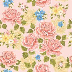 Papel de Parede Floral Rosas 25