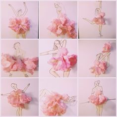 #pink #imagination #inspiration #illustration #inspirationfloral #Vancouver #soul #fashionillustration #freedom #women #fashion #flower #dress #drawing #floral #realflower #painting #sketch #doodle #facethefoliage