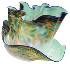 Dale Chihuly - Macchia Pair - Sold for $14,160 at Brunk Auctions