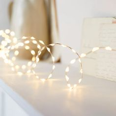 378 Warm White LED Bead Micro Fairy Light | Lights4fun.co.uk Led Fairy Lights, Twinkle Lights, Indoor Lights, Outside Lights On House, Light Decorations, Halloween Decorations, Deco Table Noel, Lit Wallpaper, Christmas Birthday