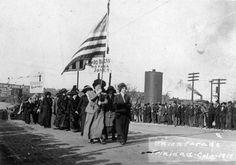 Union Parade, Trinidad, 1913.