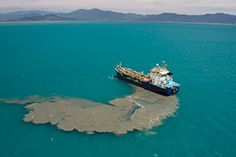 The Great Barrier Dumping Ground.... WWF Petition: Stop industrial destruction of the Great Barrier Reef. Click on photo to sign the petition