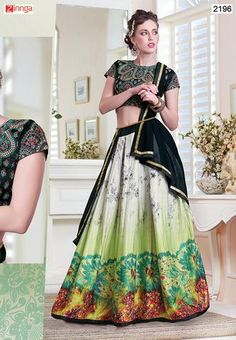 Women's Beautiful Semi-Stitched Lehnga Choli  #fashion #Trensing #Nice #Collection #Popular #Amazing #New #Fashionable #Lehengacholi #Collection #Zinngafashion #Designer #Deals