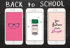Are you ready for the new school year? Well, you will be with these back-to-school wallpapers for your iPhone or Android! Brighten up all those days of hard work with over 28inspirational quotes and funny backgrounds. DOWNLOAD DIRECTLY VIA PINTEREST You can find all mobile wallpapers and their original source on our Pinterest account. To … Continue reading Back to School with 28+ Super Cute Wallpapers!