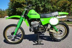 Kawasaki Kx 250, Kawasaki Motorcycles, Motocross Bikes, Vintage Motocross, Moto Bike, Motorcycle Garage, Vintage Bikes, Vintage Ads, Rocket Ride