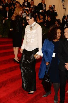 The Met Gala 2013: The Best of the Red Carpet - Jenna Lyons