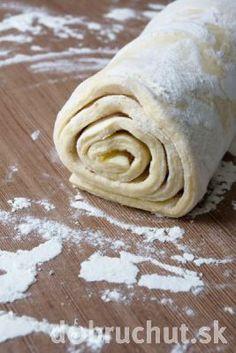 Rýchle domáce lístkové cesto Slovak Recipes, Czech Recipes, European Dishes, Cake Roll Recipes, Sweet Breakfast, Bread Rolls, Desert Recipes, Nutella, Sweet Recipes