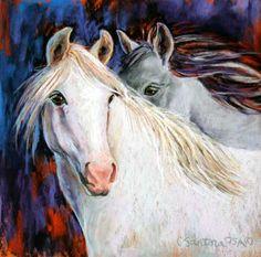 I love horse art Horse Artwork, Pastel Art, Equine Art, Beautiful Horses, Tatoos, Pony, Beautiful Pictures, Dream Catchers, Horse Stuff