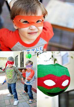 Radical Teenaged Mutant Ninja Turtles (TMNT) Party Ideas!