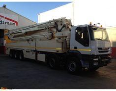JUNJIN Concrete Pump 57 m Iveco 500 - 2014
