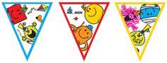 Mr Men Party Flag Bunting - 8.5ft £1.99 each