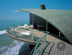 Casa sul mare 2    http://squa.re/2012/04/25/houses-of-the-sundown-sea-the-architectural-vision-of-harry-gesner/
