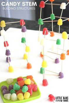 Candy STEM - Building Structures
