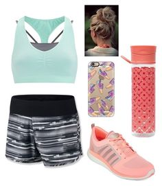 """Workout time"" by mdancer37 ❤ liked on Polyvore featuring Sweaty Betty, adidas, NIKE, Orla Kiely and Casetify"