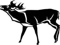 Deer Free DXF file