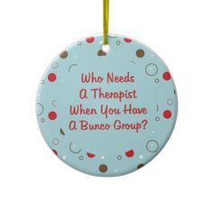 great idea for our Christmas Bunco ornament exchange.