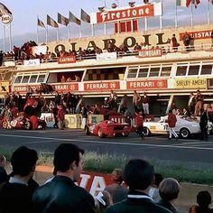 24h Le Mans, Le Mans 24, Ferrari Racing, Ferrari F1, Real Racing, Sports Car Racing, 24 Hours Le Mans, Course Automobile, Classic Race Cars