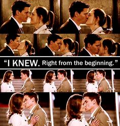 "100th episode! ""I KNEW. Right from the beginning."" <3 First scene I ever saw of Bones; I've been hooked ever since! :)"