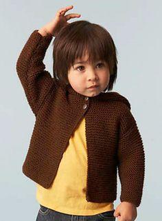 Ravelry: Baby Hoodie #70027 pattern by Lion Brand Yarn