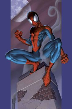#Ultimate #Spiderman #Fan #Art. (ULTIMATE_SPIDER-MAN_56_Cover) By: Mark_Bagley. (COMIC ÅWESOMENESS!!!™) [THANK U 4 PINNING!!]