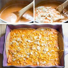 Everything about my Skinny Mexican Chicken Bake screams comfort food! At under 300 calories per [. Low Calorie Dinners, No Calorie Foods, Low Calorie Recipes, Healthy Recipes, Bariatric Recipes, Delicious Recipes, Vegetarian Recipes, Mexican Chicken Bake, Baked Chicken