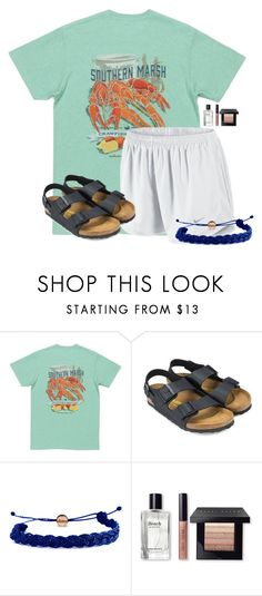 """""""~these are a few of my favorite things~"""" by flroasburn ❤ liked on Polyvore featuring NIKE, Birkenstock, Domo Beads and Bobbi Brown Cosmetics"""