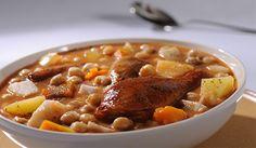 Cocido de Pollo y Cerdo
