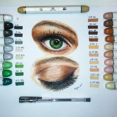 I tried our colors !! they are great! Thank you for your cooperation! follow  @artnfly  Eye  Do you like it? #eye #eyes #colors #alcohol #markers #drawings #drawing #disegno #sketch #sketch_daily #progress #iride #art #artoftheday #artcollective #supportartists #art_worldly #arts_help #worldofartists
