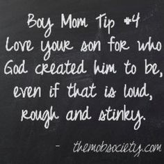 Proud to be a boy mom!