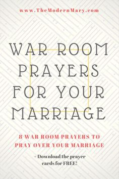 Looking for war room prayers for your child? Use these Scriptures to pray over your children & get our Scripture cards to use in prayers for your children. Marriage Prayer, Godly Marriage, Happy Marriage, Marriage Advice, Love And Marriage, Godly Wife, Marriage Scripture, Relationship Prayer, Marriage Devotional