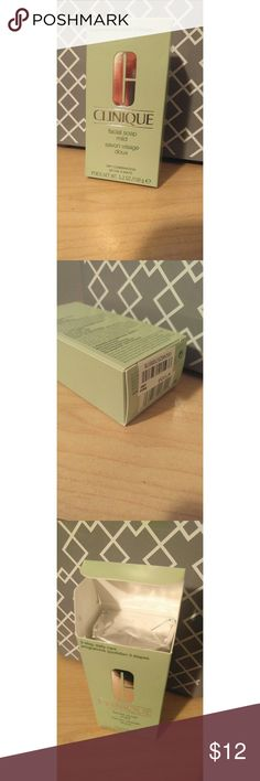 Clinique facial soap bar New!  This one doesn't come with dish.  Comes with box.  5.2 ounces Clinique Other