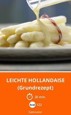 Leichte Hollandaise - (Grundrezept) - smarter - Kalorien: 122 Kcal - Zeit: 20 Min. | eatsmarter.de