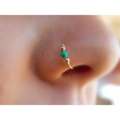 Gold Filled Nose Ring ($8.95) ❤ liked on Polyvore featuring jewelry, rings, accessories, gold filled jewelry and gold filled ring