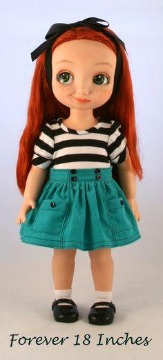 Disney Animator Doll Merida:  Rescued, Recycled, and Repainted.  Now seeking a good home!  http://www.ebay.com/itm/141881054066?ssPageName=STRK:MESELX:IT&_trksid=p3984.m1555.l2649