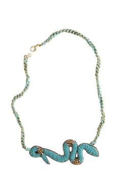 Suzanna Dai Gabon Snake Necklace