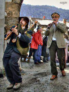 Carnaval de Zamarrones  #Cantabria #Spain