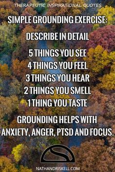 Grounding: An Effective, But Strange Coping Skill