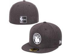 Boston Celtics Graphite Heather League Basic 59Fifty Fitted Baseball Cap by NEW ERA x NBA