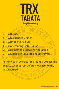 TRX Tabata Full Workout