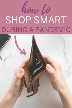 How to save money when you're out of work during a pandemic. Shopping Hacks, Money Tips, 5 Ways, Saving Money, Advice, Save My Money