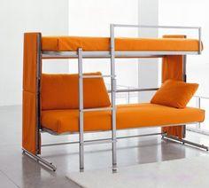 Decoração de casa e apartamento: Decoração 2013 Sofá-cama e beliche