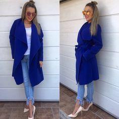 modrá je dobrá zavinovací kabát veľ.UNI v cene 3490 IHNEĎ K ODBERU  #newcollection#tvojstylfashion