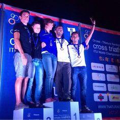 Il nostro campione Bonalumi Alessandro 3° di categoria al #TNatura di Orosei sardegna Cross #triathlon ITU World Championships 2015 #europasportingclub #esc