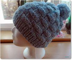 Fido Baby Hats, Basket Weaving, Knitted Hats, Beanie, Knitting, Children, Crochet, Knit Patterns, Tutorials