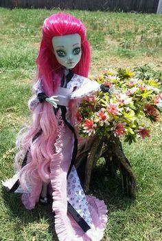 OOAK Custom Monster High Repaint Redress Oriental Frankie | eBay
