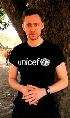 Unicef UK Supporter Tom Hiddleston