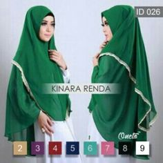 Jilbab Instan Kinara Renda Premium http://bundaku.net/pakaian-wanita/jilbab/jilbab-instan-kinara-renda-premium