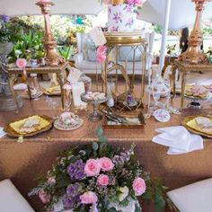 Event Styling - Grand High Tea at The Beverly Hills Hotel 023 Beverly Hills Hotel, The Beverly, Event Styling, High Tea, Birthday Parties, Birthdays, Table Settings, Table Decorations, Party